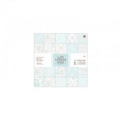 Capsule - Ass. paper 15x15cm (32PK.) - Eau de nil