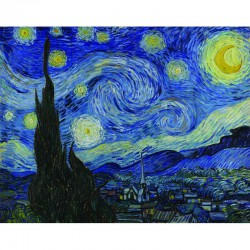 Paint your own masterpiece Stary Night