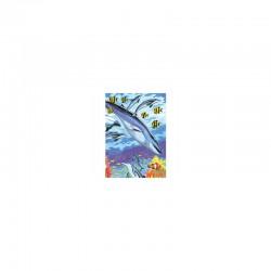 Colour pancil by No.Mini 12,5x17,5cm Under the sea