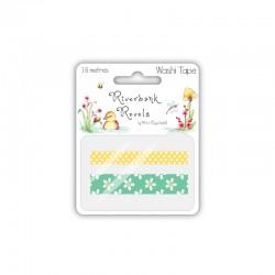Riverbank Revels - Washi tape flowers 2x8m°