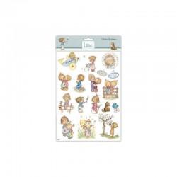 Lillibet - A4 Glitter stickers children