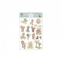 Lillibet - A4 Glitter stickers children