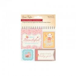Lullaby - Sticker flipbook Baby Girl 5 sheets