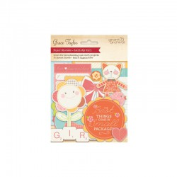 Lullaby - Assortment die-cuts Baby Girl 30pcs