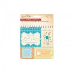 Lullaby - Sticker flipbook Baby Boy 5 sheets