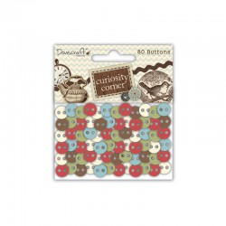Curiosity - Assorted buttons 80pcs°