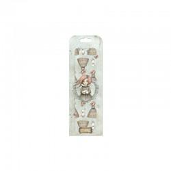 Deco Mache - Mirabelle - Traveller's Rest Character Repeat 26x37,5cm