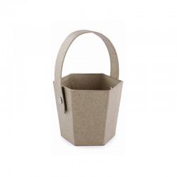 Hexagonal basket 7x16cm 12pcs