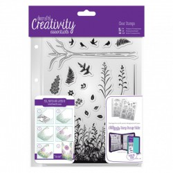A5 Clear Stamp Set - Forest (20 pcs)