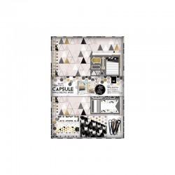 Kit Scrap Book - Capsule -  Geometric Mono