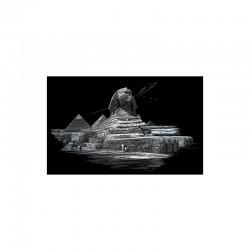 Engraving art.28,6x39cm silver. Sphinx