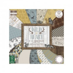 First Edition FSC 30x30cm Paper Pad - Wild At Heart