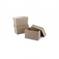 Mini box rectangle 98x62x53mm pack of 10