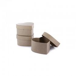 Mini box heart  90x90x53mm pack of 10