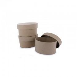 Mini box oval 97x65x50mm pack of 10