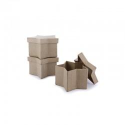 Mini box star 90x90x50mm pack of 10