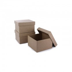 Mini box square 85x85x55mm pack of 10