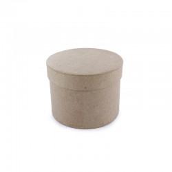 Small round box 100mm (4x2x3'')