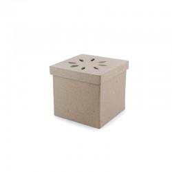 Square pot pourri box