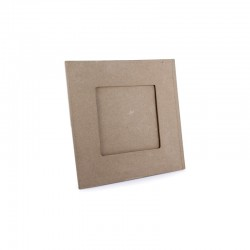 Picture frame 18x18cm photo 10x10cm