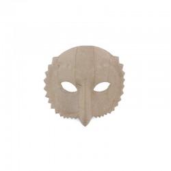 Owl mask 18x18cm