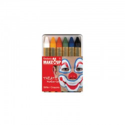 Set 6 make up crayons