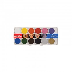 Aqua make-up assorted box 12 colours