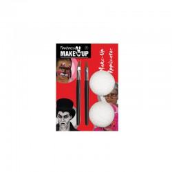 Set 3 make-up brushes