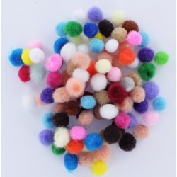 Assort. Mini Pompon 0,45cm (100 pcs)