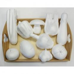 Assort. Vegetables polystyrene (10 pcs)