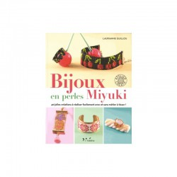 Book - Bijoux en perles Miyuki FR