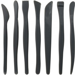 Plastic Clay Tools Set/7-Gray Color