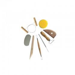 Potter set - 8 modelling/sculpting tools