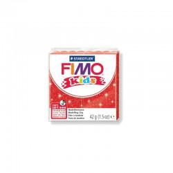 Fimo Kids 42g Glitter red