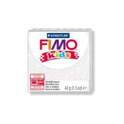 Fimo Kids 42g Glitter white