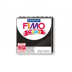 Fimo kids clay 42 g black