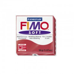 Fimo Soft 57g Kersenrood