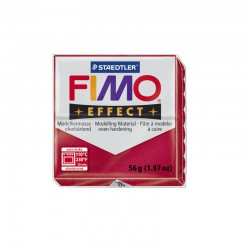 Fimo Effect 57g Ruby red