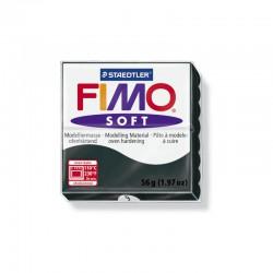 Fimo Soft 57g Zwart