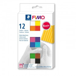 Assort. Fimo Soft 25g (12 colours)