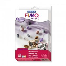 Fimo Soft Set 6 x 57g Glam Colours