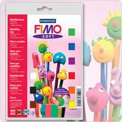 Assort. Fimo Soft Basic 25g (9 Colors)