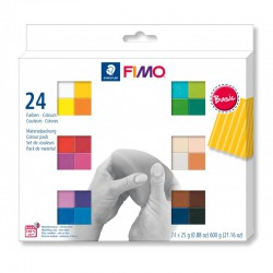 Assort. Fimo Soft 25g (24 colors)