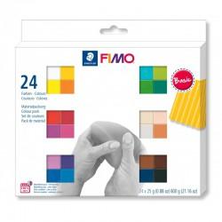 Assort. Fimo Soft 25g (24 colors)