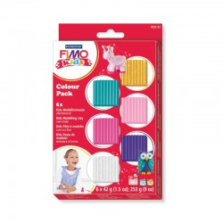 Fimo kids Colour pack girlie(6x42gr)
