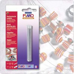Fimo Bead Piercing pins 25 pcs 0.8x90 mm 25 st 1.7x90 mm