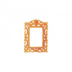 Polyurethane, small filigree frame 25x18 int:15x10cm