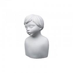 Joans, plaster statue boy 60x50x97mm