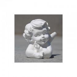 Plaster statue Angel Muriel