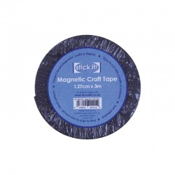 Magnetic craft tape 12mm x 3m.